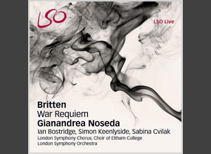Sabina Cvilak (soprano); Ian Bostridge (tenor); Simon Keenlyside (baritone); London Symphony Orchestra; London Symphony Chorus; Choir of Eltham College; Gianandrea Noseda (conductor). Recorded in October 2011 at the Barbican, London.