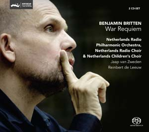 Evelina Dobracheva (soprano); Anthony Dean Griffey (tenor); Mark Stone (baritone); Netherlands Radio Choir; Netherlands Children's Choir; Netherlands Radio Philharmonic Orchestra; Jaap van Zweden and Reinbert de Leeuw (conductors). Recorded live in May 2010 at Vredenburg Leidsche Rijn, Utrecht.
